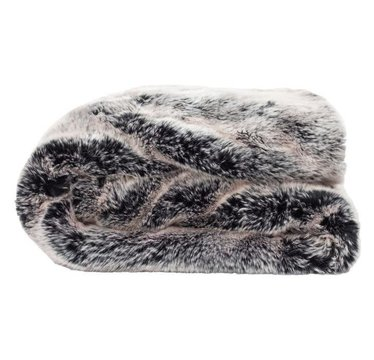 Pretty Rugged Lap/Pet Blanket Silver Fox