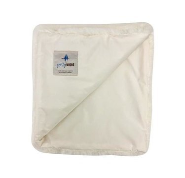 Pretty Rugged Baby Blanket White Mink